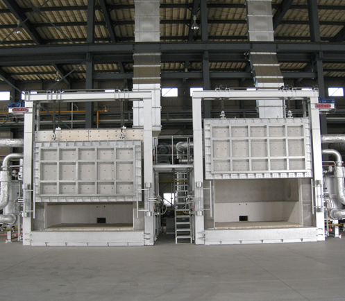 Batch type heating furnace for forged products(Regenerative Gas Burner type)